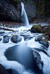 Ponytail Falls, Winter Study