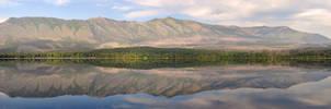 Lake McDonald Panorama by greglief