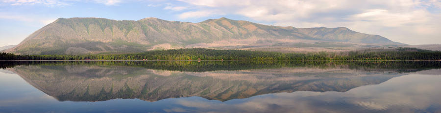 Lake McDonald Panorama by greglief