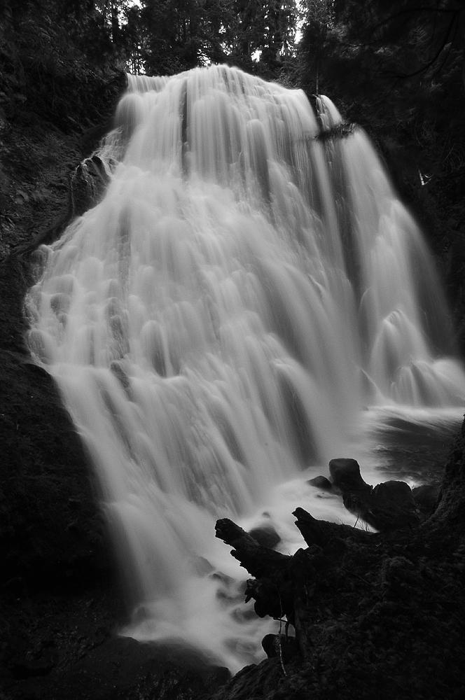 Little Niagara Falls, Study 1 by greglief