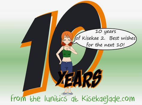 10 Years of Kisekae 2!