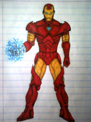 The Invincible Iron Man by gvnightmare03