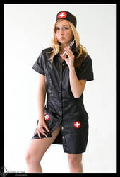 Nurse in black - Stephanie 01 by eyereflection