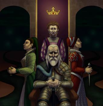 King Lear by Naiku-Haru