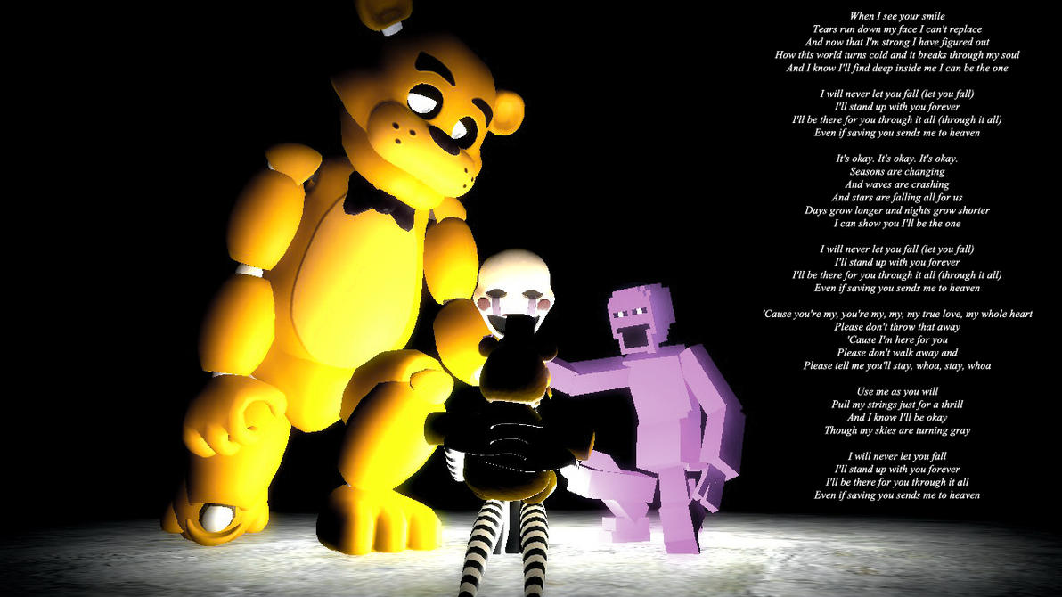 Fnaf C Fnaf 4 Crying Child Fredbear Or Puppet Five Nights At