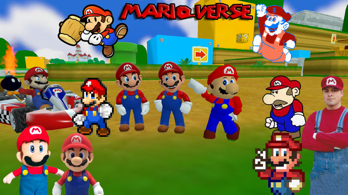 Gmod Mario Characters – HD Wallpapers