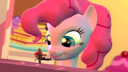 Pinkie Pie and the Tiny Desk Engineer