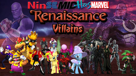 NinSeMidHasMarvel Renaissance Era Villains