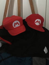 Two Mario Hats
