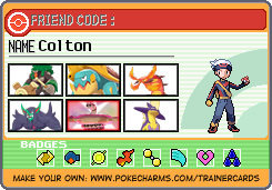 Pokemon Trainer Sword: Colton
