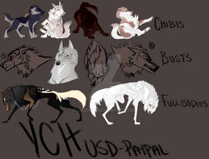 Mixed YCHs 1 - BUSTS OPEN!