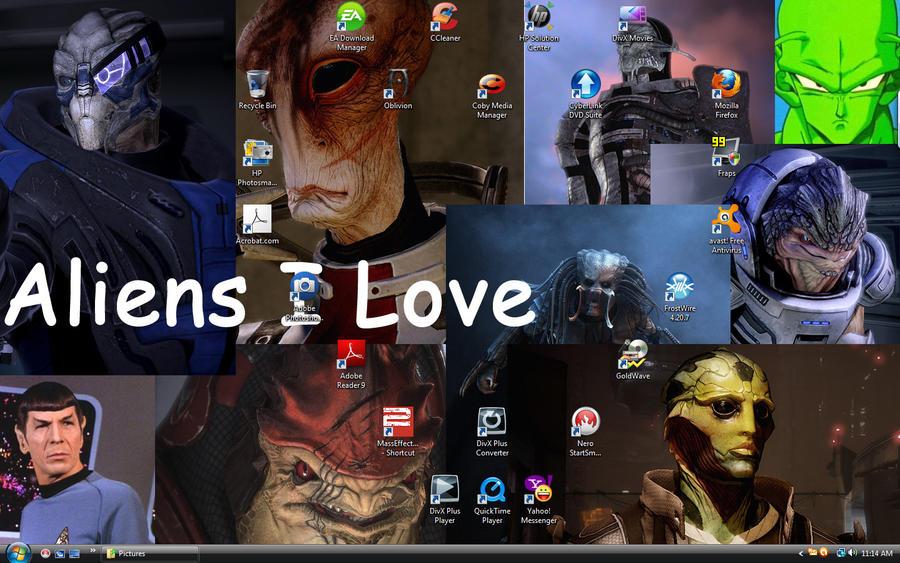 desktop by ladybeastcharmer