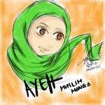 Ayeh Muslim Manga by myst-o
