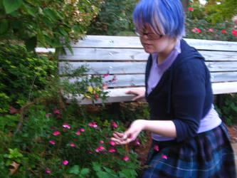 Examining the Flora by ChronicallyZee