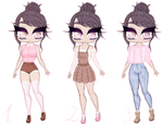 [OPEN] Sweet Autumn Outfit Adopts by sugar-boutique