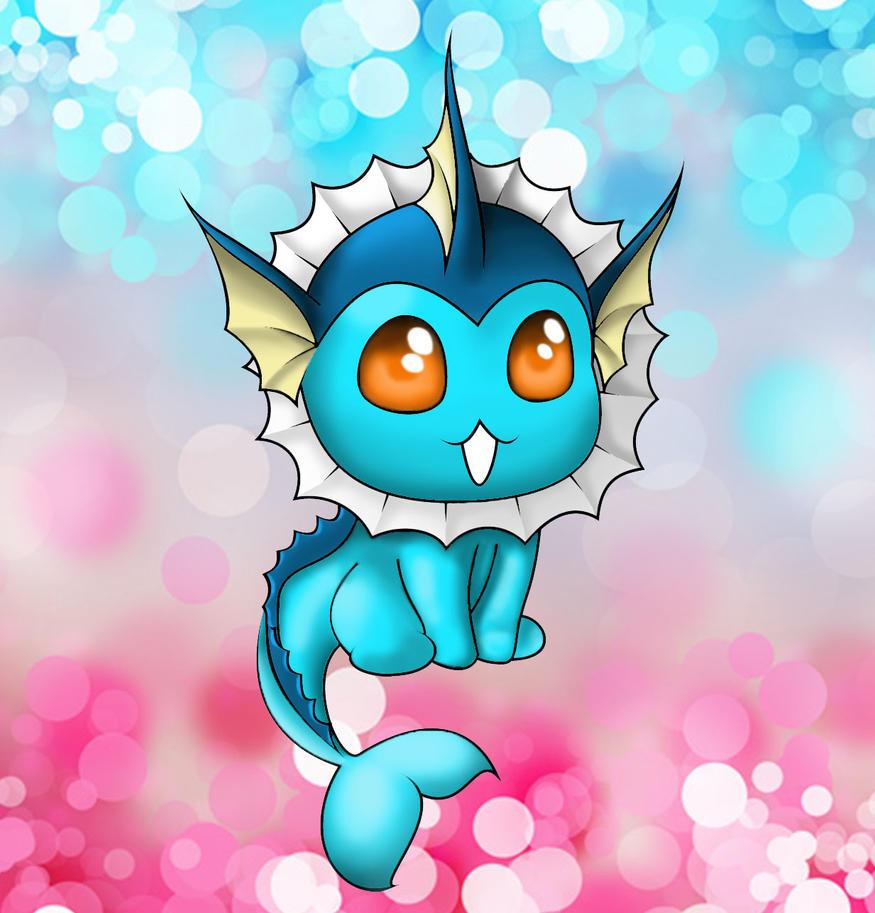Pokemon Vaporeon By Luckykarmas On Deviantart