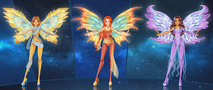 Winx NG Fairy Trio (Younger) -  Dreamix