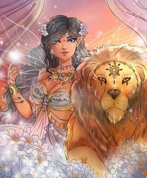 the Garden Fae - Jasmine and Jafar