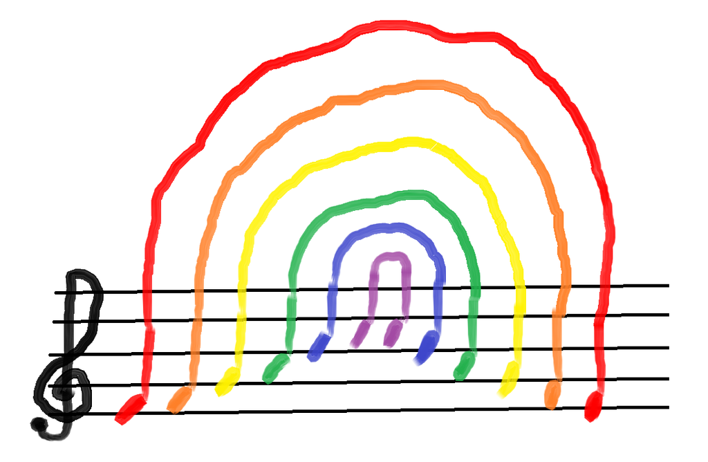 Music Rainbow by pandagirl1995