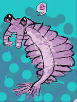 Anomalocaris loves you by calciumfish