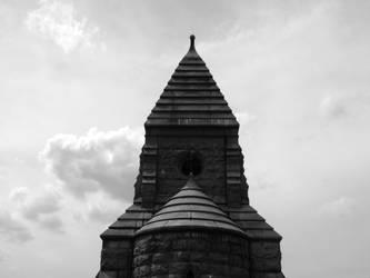 Norton Mausoleum 4 BW by sgath92