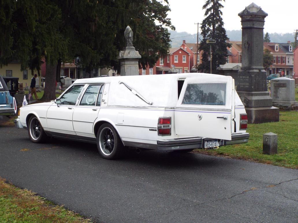 Rear white Buick by sgath92