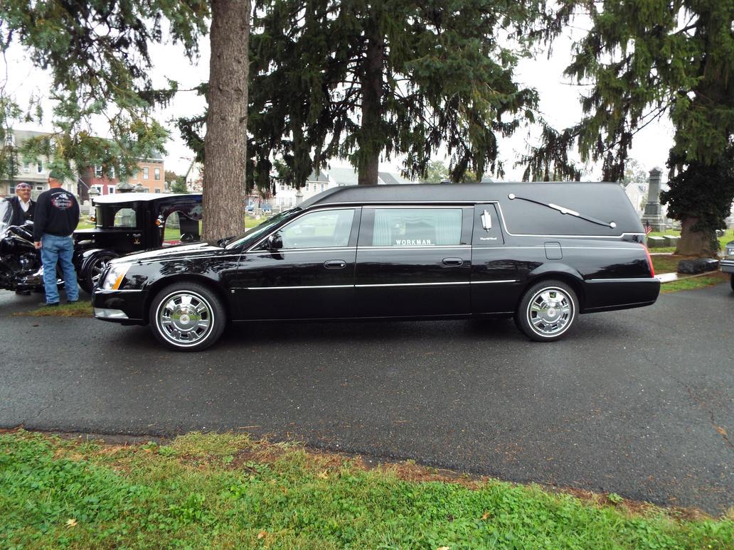 New Cadillac hearse in Mt Bethel by sgath92