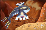 Primal Kyogre by rateofdifference