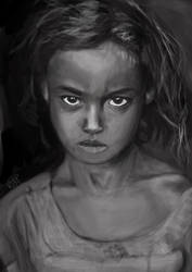 Kenyan Girl by kjt