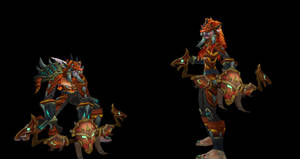 Zul'gal Invaders: Fire Archer by thewarlock66