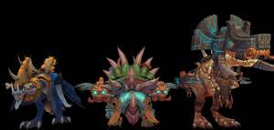 Zul'gal Invaders: Beast by thewarlock66