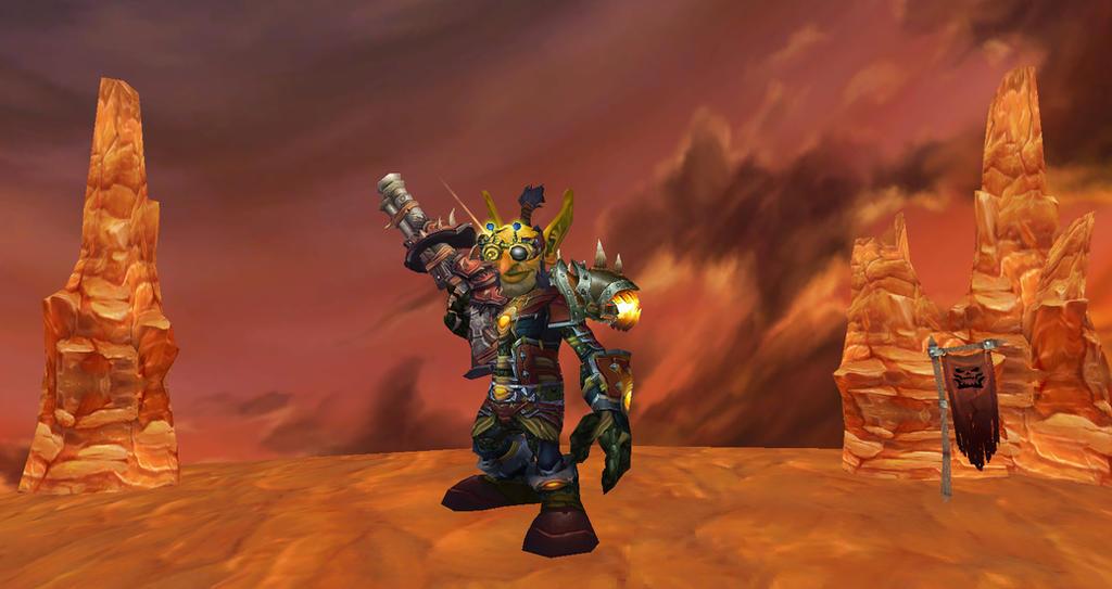 Siege Crafter Drizzle Darkgear by thewarlock66