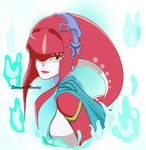 Princess Mipha by Soraya-Mendez