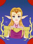 Princess Zelda by Soraya-Mendez