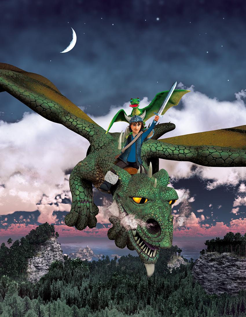 Illustration for Drachenzaehmen leicht gemacht 8