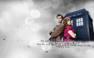 The Doctor and Donna Noble by bloodylev