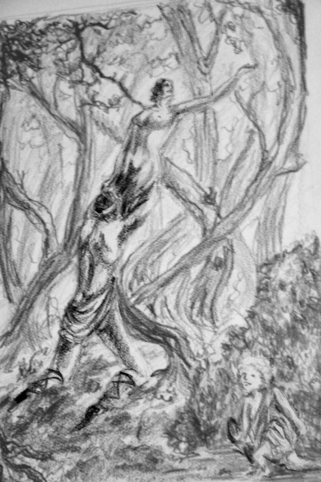 Greek Mythology ContestApollo and Daphne by Stercilus on DeviantArt