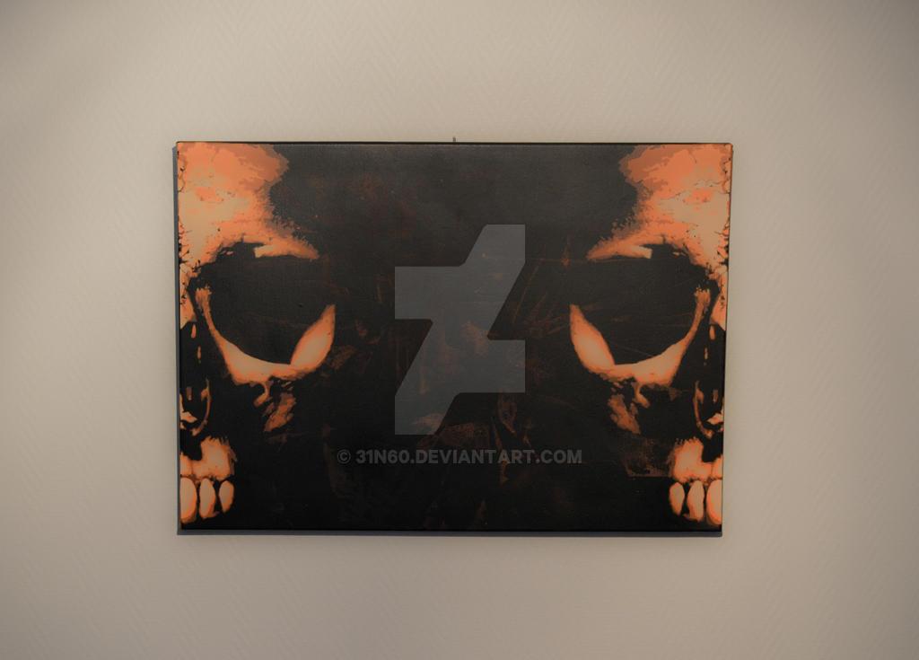 Twin skulls mk2 by 31n60