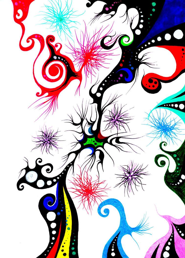 Color Poofs O.o by RawwrSammy