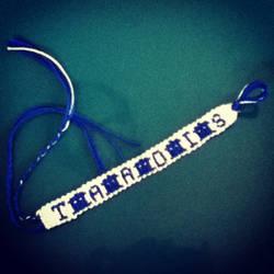 Tardis bracelet by RawwrSammy