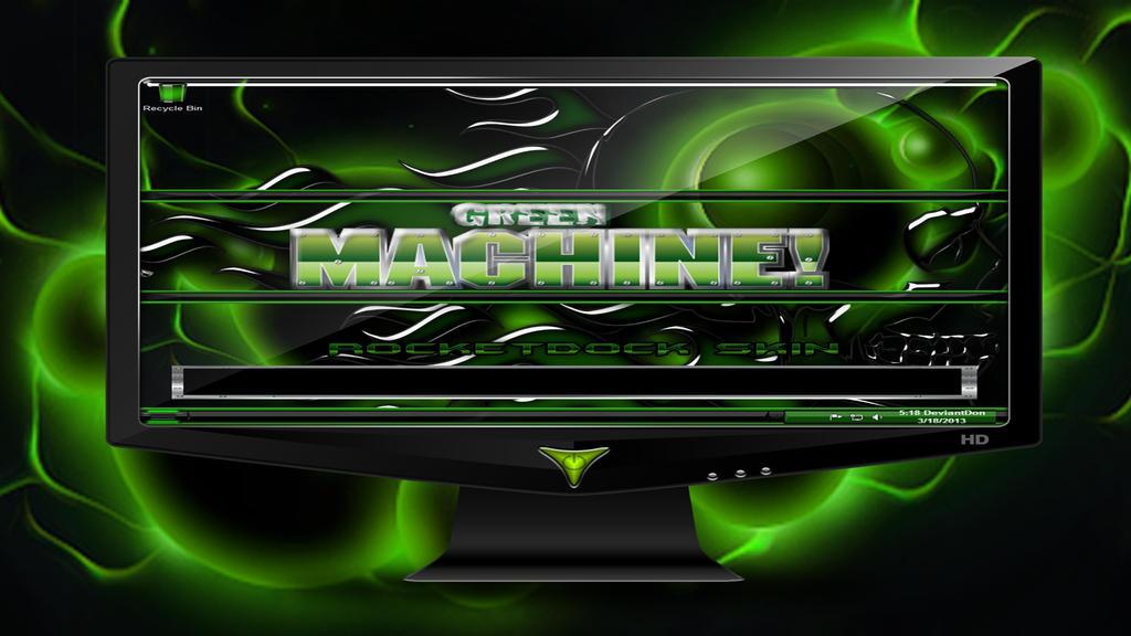 Green Machine 1 by deviantdon5869