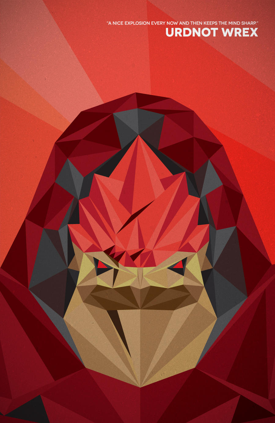 Urdnot Wrex by TheCuraga