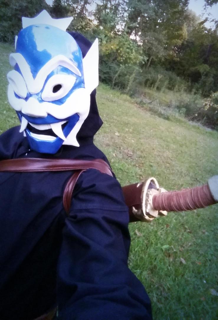 Blue Spirit Halloween by TheCuraga