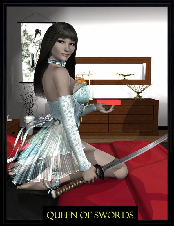 The Queen of Swords by Requiemwebcomic