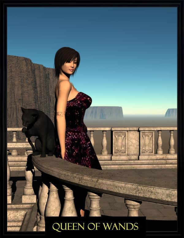 Queen Of Wands by Requiemwebcomic