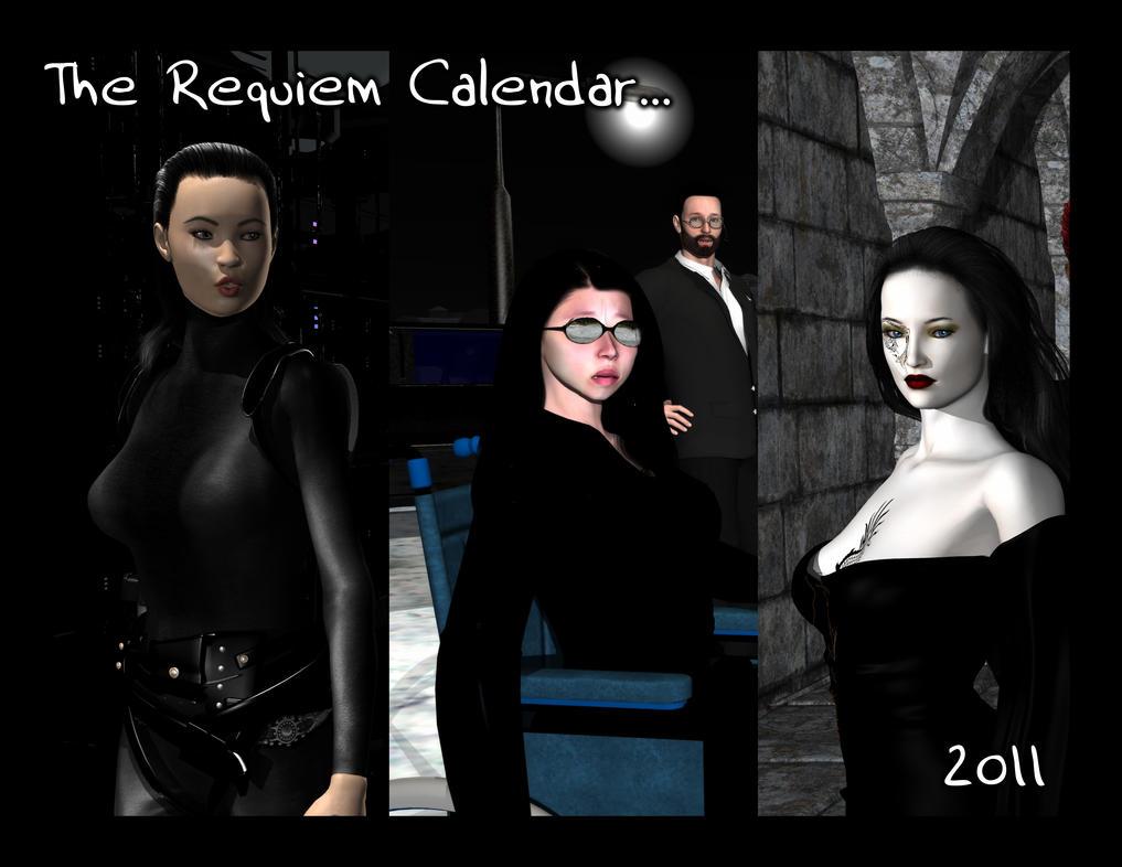 Requiem Calendar 2011 by Requiemwebcomic