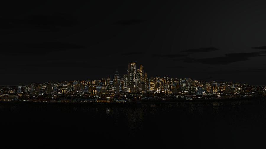 City Lights by Requiemwebcomic