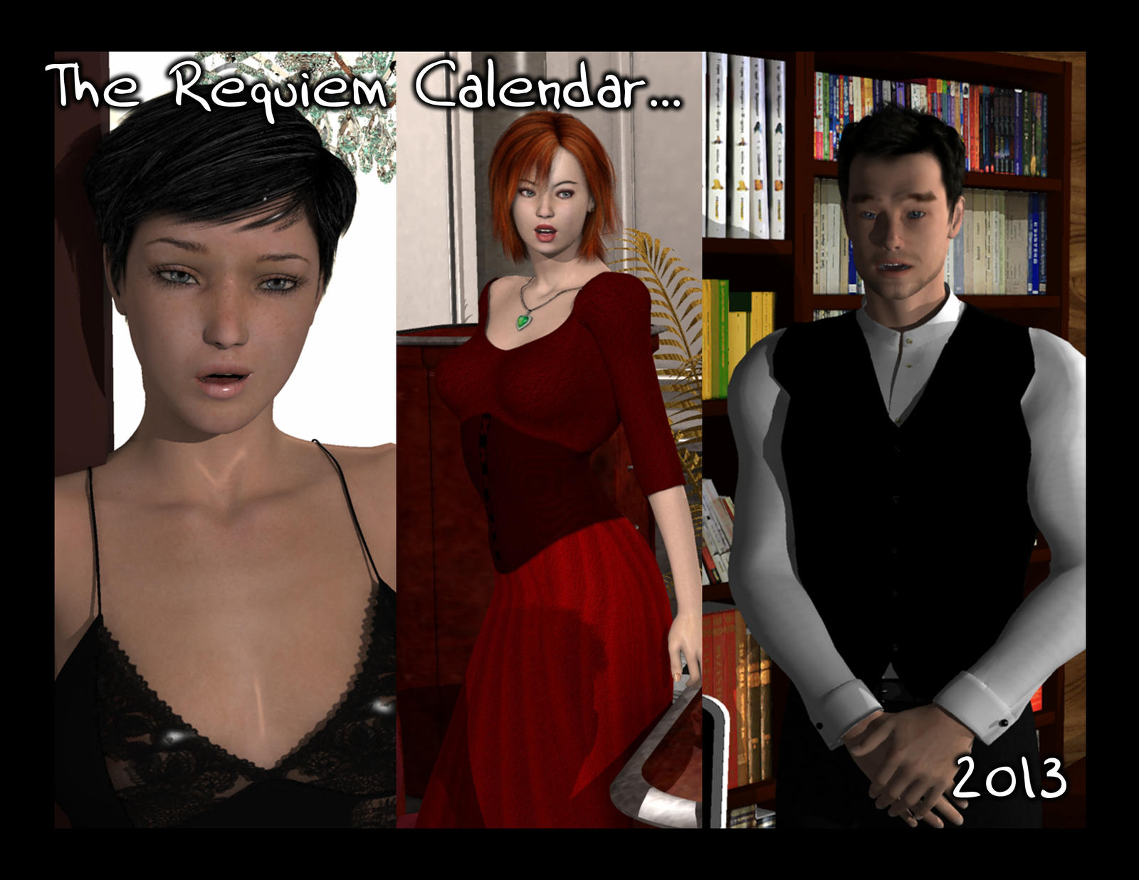 Calendar 2013 by Requiemwebcomic