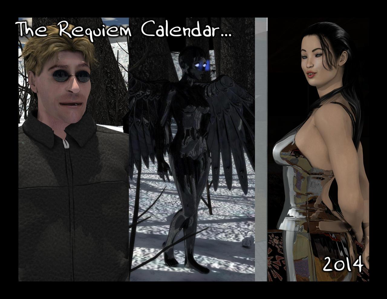 Requiem Calendar, 2014 by Requiemwebcomic