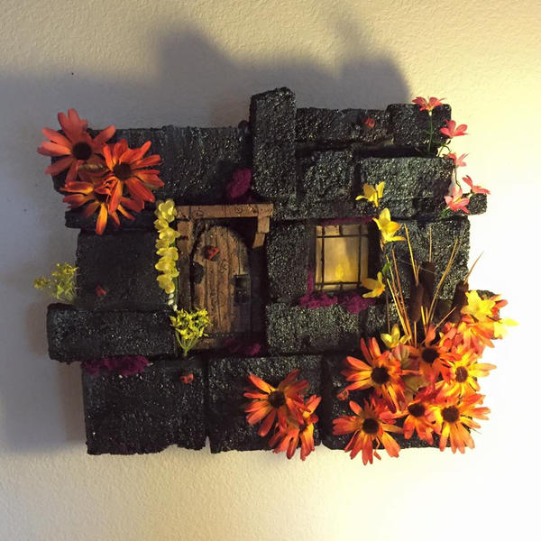 fantasy wall decor by UglyBabyEater